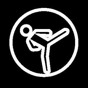 Icons - Karate – Blanco