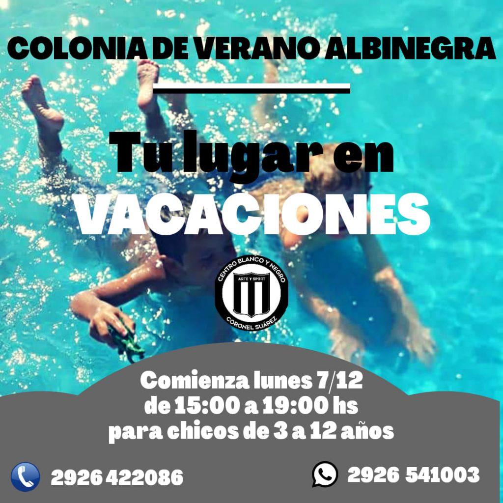 Colonia de Verano Albinegra